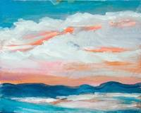 Landscape Painting of Sunset