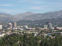 Panorama of Burbank, CA