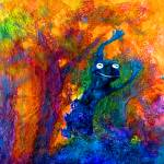 """""""Leap Frog"""" by artbyclaire"""