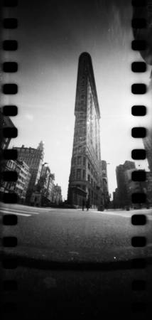 New York Flatiron By pinhole