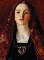 Portrait of a Girl, 1857 by John Everett Millais