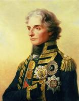 Portrait of Lord Horatio Nelson by Friedrich Heinr