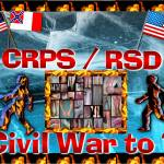"""Civil War to ? CRPS/RSD Fire & Ice"" by Samantha_Adcock"