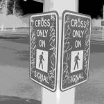 """Crossing Glyph"" by jjs_graphics"