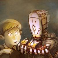 My Robot Buddy Art Prints & Posters by Mike Monroe