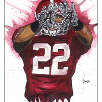 """Mark Ingram ""The Gloves"""" by berreyart"