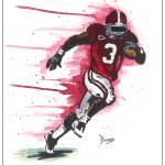 """Trent Richardson - ""Running Man"""" by berreyart"