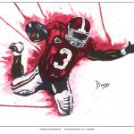 """Trent Richardson - ""Diving"""" by berreyart"