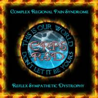 CRPS RSD This Is Our World Frame of Flames