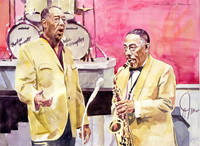 Duke Ellington and Johnny Hodges