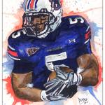 """""Michael Dyer""  Auburn University"" by berreyart"