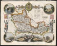 Antique Map of Berkshire
