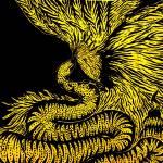 """""""Harpy Eagle and Anaconda"""" by Mayya_Lobova"""