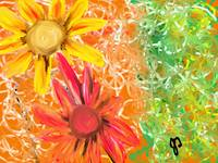 Spring Pretty Floral Painting