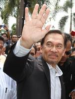 Anwar Ibrahim in Courthouse
