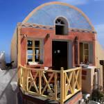 """Mediterranean Kitty - Oia, Santorini"" by shhhhh-art"