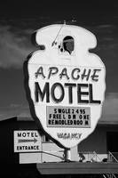 Route 66 - Apache Motel 2008