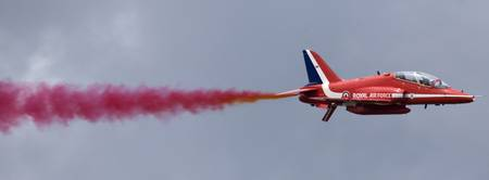 The Red Arrows at Farnborough International Airsho
