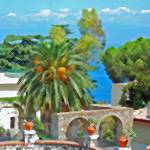 """""""Sicilian Villa"""" by PrestonPhotoArtStudio"""