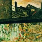 """""""Bridge over canal"""" by Artshedbg"""