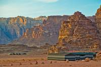 Desert Valley of Wadi Rum