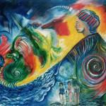 """Watching nature scream"" by Artshedbg"