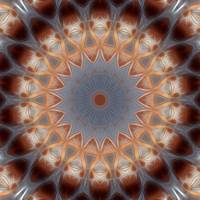Gray and Brown Industrial Kaleidoscope 8