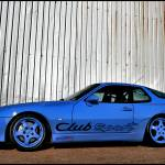 """Porsche 968 CS - Wall"" by justhype"