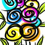 """""""Lollipop Flowers"""" by oystudio"""