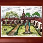 """Monastery"" by Crosseffect"