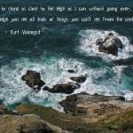 """Kurt Vonnegut quote"" by JenniferLaskerWhite"