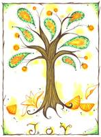 Orange Joy Tree
