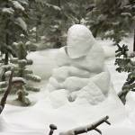"""""""Snow Buddha - Painting"""" by nostalgiawest"""