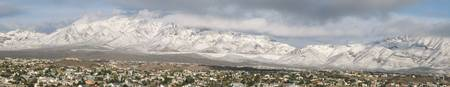 Franklin Mountains Snow III