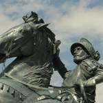 """""""Equestrian Statue II - El Paso, Texas"""" by MarksClickArt"""