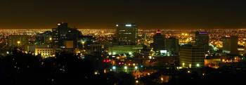 Downtown El Paso at Night