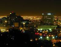 El Paso Sparkles at Night
