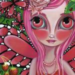 """""Strawberry Butterfly Fairy"""" by artbyjaz"