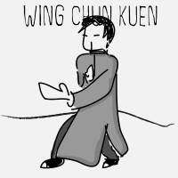 Wing Chun Stance Art Prints & Posters by Alwyn Wan