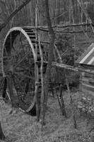 old waterwheel