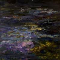 Water Lilies at Dusk