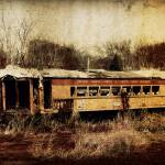 """Chicago Dilapidated Train"" by Juliec21"