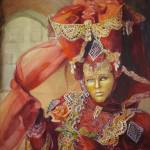 """Mask of Venice I - Carnivale"" by KarenBradshaw"