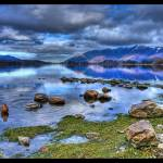 """Derwentwater and Skiddaw HDR"" by LesBrown"