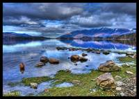 Derwentwater and Skiddaw HDR