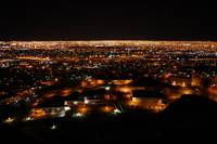El Paso Juarez Night View 4