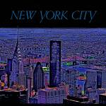 """""""New York City View From Empire State Bldg"""" by Automotography"""