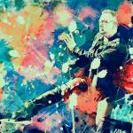 """Bono on stage"" by rosalin"
