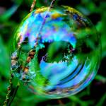 """Bubble Mirror"" by artofbeing"