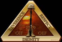 54th QM TF 01-09 OEF/OIF Logo